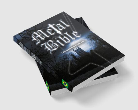 Metal Bible versão em Português - pacote com 02 unidades